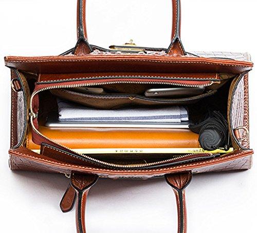 Keshi Leder Niedlich Damen Handtaschen, Hobo-Bags, Schultertaschen, Beutel, Beuteltaschen, Trend-Bags, Velours, Veloursleder, Wildleder, Tasche Café