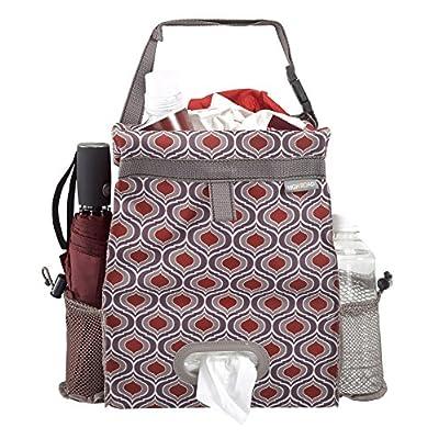 High Road Puff'nStuff Car Trash Bag and Seat Back Organizer with Tissue Holder (Sahara): Automotive