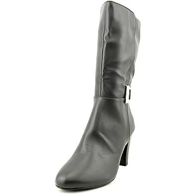 Womens Viivi Almond Toe Mid-Calf Fashion Boots