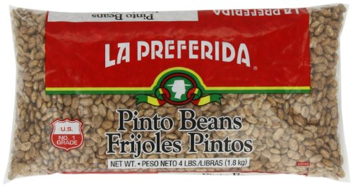 La Preferida Pinto Beans, 4-Pounds (Pack of 6) by La Preferida