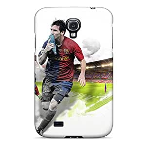 New Style StellasKeller Hard Case Cover For Galaxy S4- Lionel Messi Sport