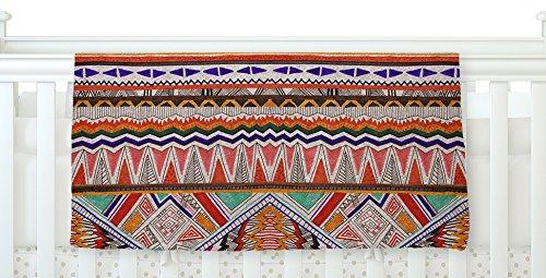 KESS InHouse Vasare Nar Native Tessellation Fleece Baby Blanket 40 x 30