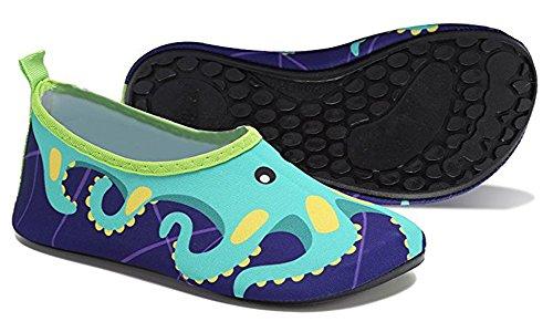 0b570fd68dfc Kids Swim Water Shoes Girls Boys Lightweight Barefoot skin Shoes  Mutifunctional Beach Pool Aqua Socks for