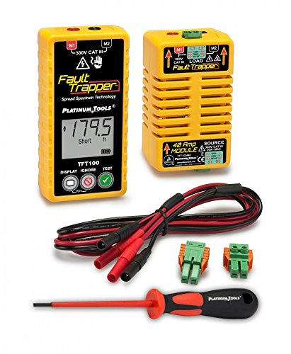 Arc Fault Tester - Platinum Tools TFT100 Fault Trapper Arc Fault Circuit Tester and Fault Locator