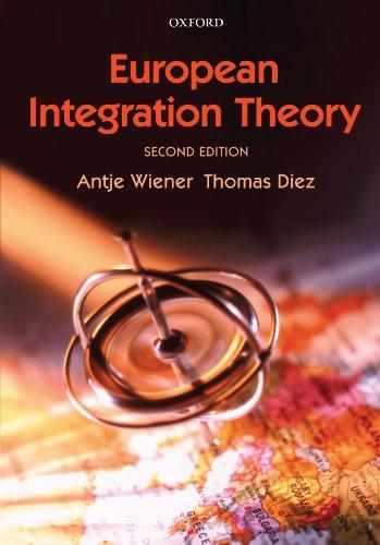 European Integration Theory (Tapa Blanda)