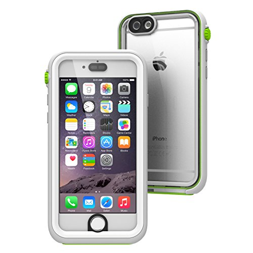 iPhone 6 Case Waterproof Impact Protection by Catalyst, High Touch Sensitivity ID, Military Grade Drop and Shock Proof Premium Material Quality, Slim Design, Green Pop