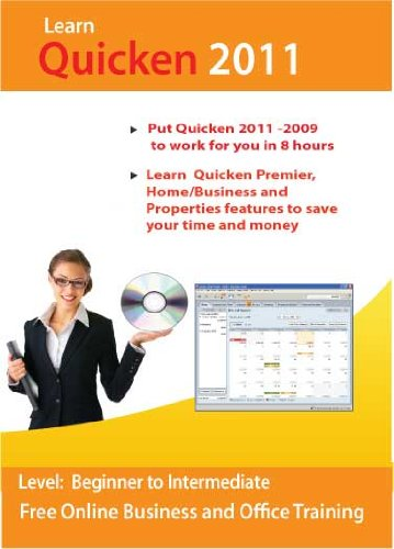 Quicken 2011 Deluxe and Home/Business Step-by-Step Training CD Course