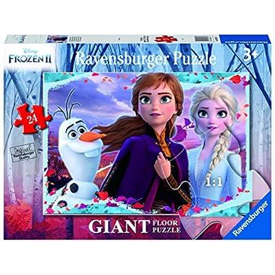 Ravensburger Frozen 2 B Puzzle 24 Giant Pavimento Multicolore 03036
