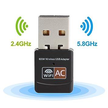 USB Wifi Adapter 600Mbps Diffingle Wireless USB Wifi 802 11ac  2 4GHz/300Mbps 5GHz/867Mbps
