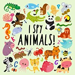 NEW AND IMPROVED with even more animals!  Can you spot the animal that begins with G? How about the animal that begins with D? You'll soon discover in this fun game,  I Spy – Animals!   Each puzzle focuses on a different letter of the alphab...