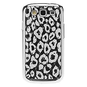 hao Leopard Pattern Hard Case with Rhinestone for Samsung Galaxy S3 I9300