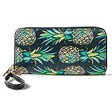 Women Wristlet Ladies Wallet RFID Zip Around Clutch Purse with Phone Compartment