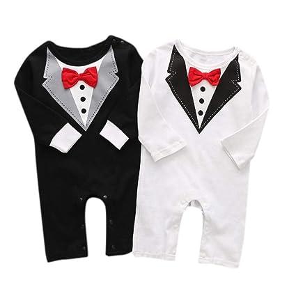 Abbigliamento Neonato Inverno Autunno Tute Bimbo 6-9 12-18 Mesi Neonati  Bambini Neonati ff83a4a13da