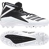 adidas Men's Freak Mid MD Football Shoe, White/Black/Black, 8 M US