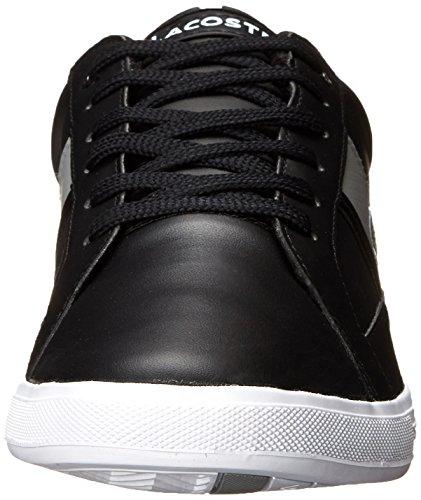 Lacoste Mens Europa Lcr Fashion Sneaker Nero / Grigio