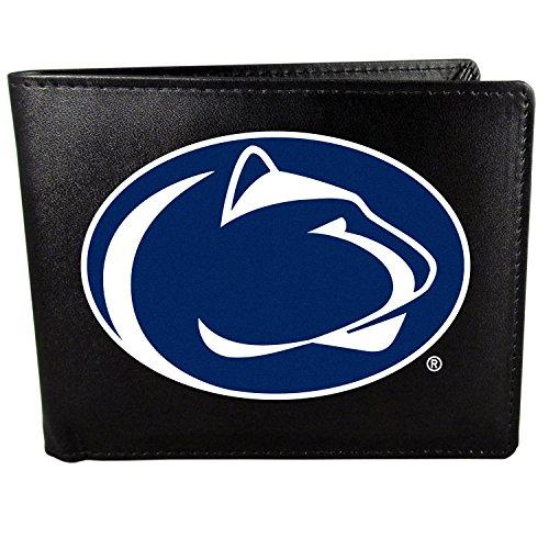 Siskiyou NCAA Penn State Nittany Lions Bi-Fold Wallet Logo, Large, Black