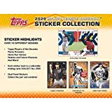 2020 Topps MLB Baseball Sticker Collection box