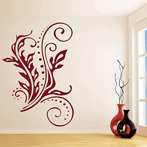 【お気にいる】 dreamkraft dreamkraft Swirlリーフの壁装飾アートステッカービニールデカールホームデコレーションリビングルーム&キッズ寝室( 15 21インチ) x x 21インチ) B07CGM22SW, プレミアムジャパン:e1113d2a --- a0267596.xsph.ru