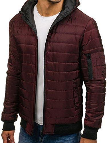 Mix Casual BOLF Men's Lightweight ak85 Jacket Transitional Classic 4D4 Claret wIYIqr