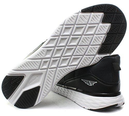 Rouge Chaussures Rsc006 Hommes Sneakers Noir