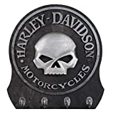 Harley-Davidson Skull Key Rack/Holder - 4 Hooks