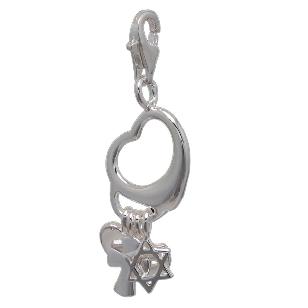 MELINA Charms Pendentif coeur Argent 925