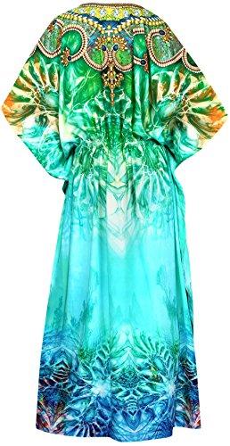 Caftano Spiaggia Bagno Pigiameria Leela La Costumi Digitale Pi Kimono Likre Da wXaI8pq