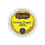 Celestial Seasonings 14732CT Lemon Zinger Herbal Tea K-Cups, 96/carton