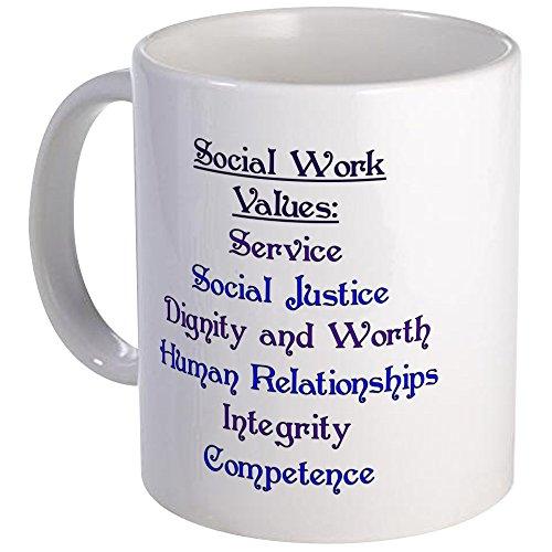 CafePress Social Work Values Mug Unique Coffee Mug, Coffee Cup
