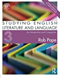 Studying English Literature and Language: An Introduction and Companion