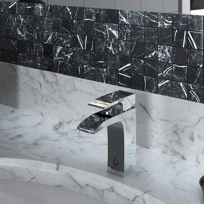 (Nezza NBF-115-001-CH Rodin Series Single Handle Bathroom Faucet with Waterfall, Chrome)