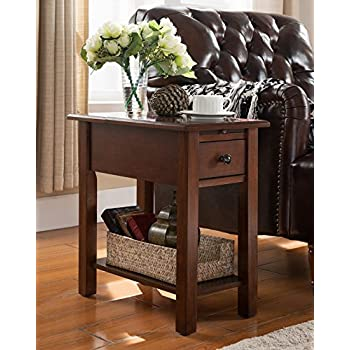 Amazon Com Sauder Carson Forge Smartcenter Side Table