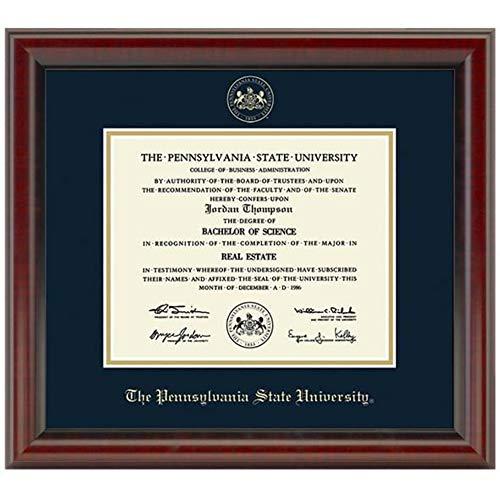 - M. LA HART Penn State University Diploma Frame, The Fidelitas