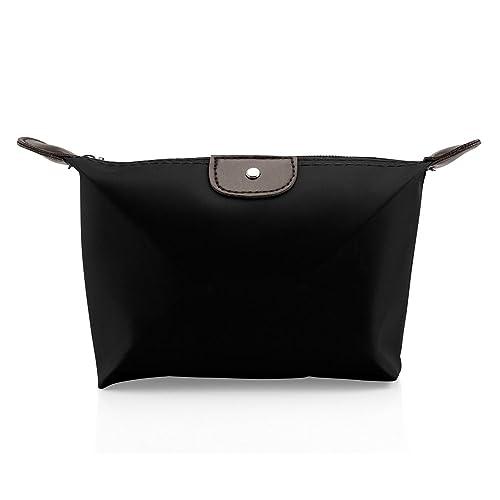 80a7cbcef5df GEARONIC TM Pouch-Cosmetics Case Makeup bag Multifunction Travel Accessory  Organizer - Black