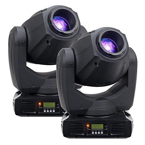 ADJ American DJ Inno Spot Pro 80-Watt Moving Head Light 2 Pack