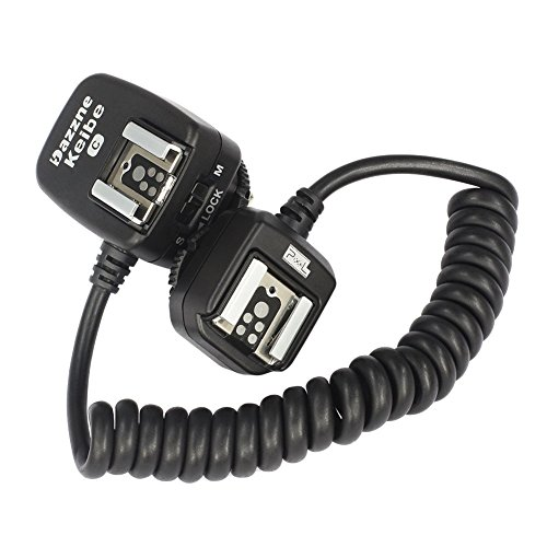 PIXEL TTL HSS 1/8000s E-TTL E-TTL II Off-Camera Shoe Cord replaces OC-E3b for Canon EOS 5D Mark II III,6D,5D,7D,60D Cameras and flash Speedlite (141 Inch)