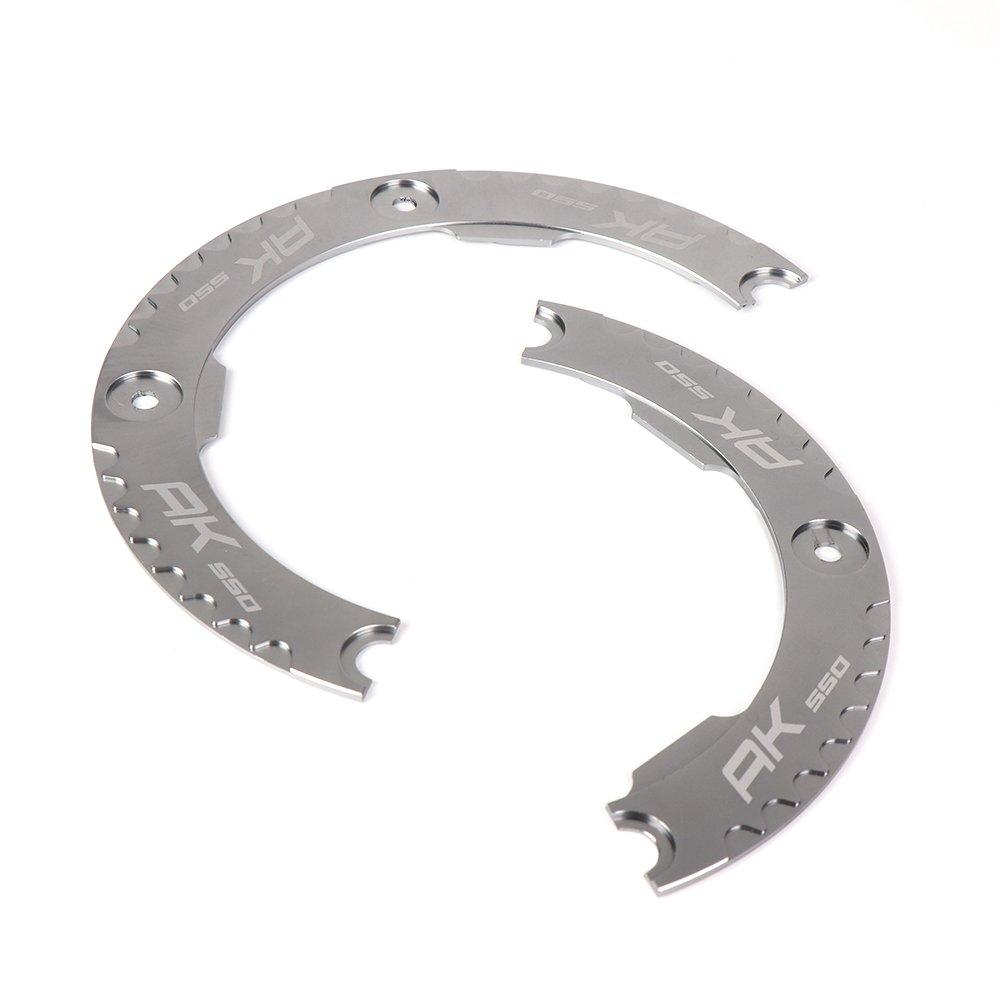 AK550 Trasmissione Cinghia Protezione Puleggia Cinghie CNC Alluminio Moto Coperchio Anello Corone per KYMCO AK550 AK 550 AK-550 2017 2018