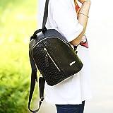 Travel Backpack,Hemlock Teenagers Girls Shoulder Bag School Backpack Bag (Black)