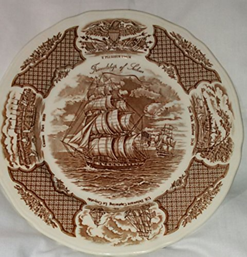 Fair Winds China Dinner Plate - Brown