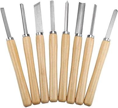 13 Pieza Talla de madera conjunto de cincel herramienta de mano carpintería Profesional Acero gubias