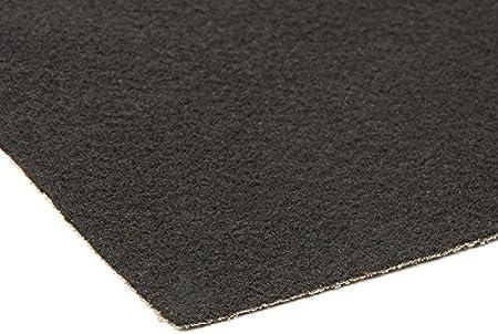 Schwarzer Teppich VIP Teppich 2m x 3m Gangl/äufer Messeteppich Meterware Eventtepich Hochzeitsteppich Schwer Entflammbar Farbe Schwarz