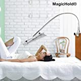 Magichold 360º Rotating Bed Tablet Mount Holder Stand Fr Ipad Pro 12.9'' or 9.7''/ipad Air,ipad Mini & All Tablet 7-13'' size- The Longest 91cm(36 Inch) -Turns any angle