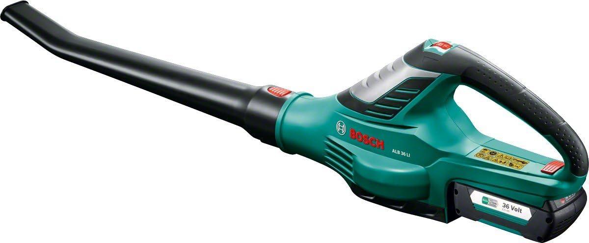 Bosch ALB 36 LI - Soplador de Hojas a Batería , 72 W, 36 V, con batería y cargador