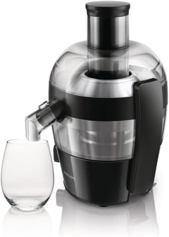 Philips HR1832 HR1832/02, 500 W, 1 Liter, 0 Decibelios, Polipropileno, Negro