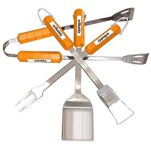ecBuddy 4-Piece Barbecue Set by ecBuddy