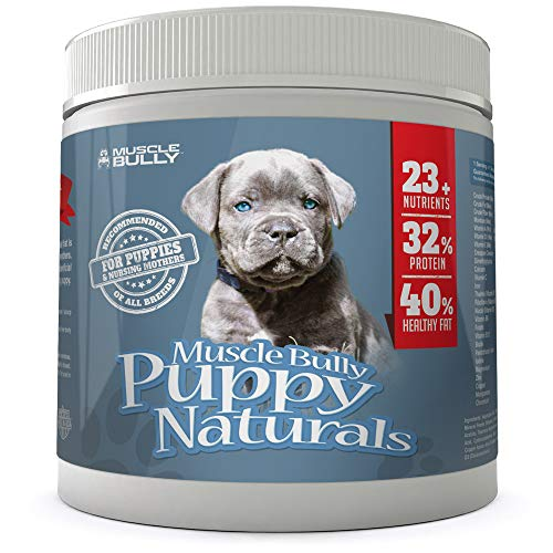 Muscle Bully Puppy Naturals (60 Serving) - A Healthy Nutritional Formula for Growing Puppies (for All Breeds). (60 Servings)
