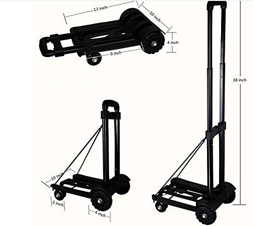 Lightweight Folding Hand Cart Hdgge Dolly Fold Up Hand Truck