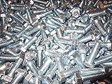 5 16 hex head bolt - (200) 3/8-16 X 1 1/4 Hex Head Cap Screws Grade 5 Zinc Plated 200 Pieces