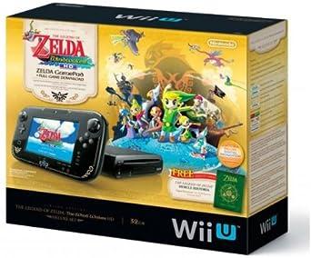 Nintendo Wii U Zelda Wind Waker HD Premium Pack - videoconsolas ...