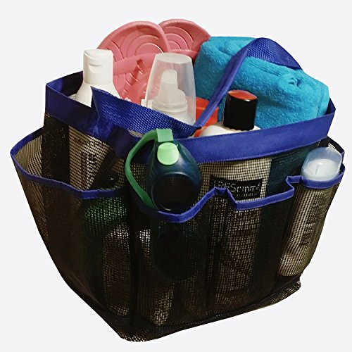 Mesh Shower Caddy Tote Zipper product image
